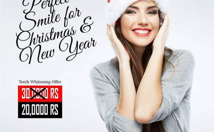 Christmas and New Year 2019 Teeth Whitening Offer